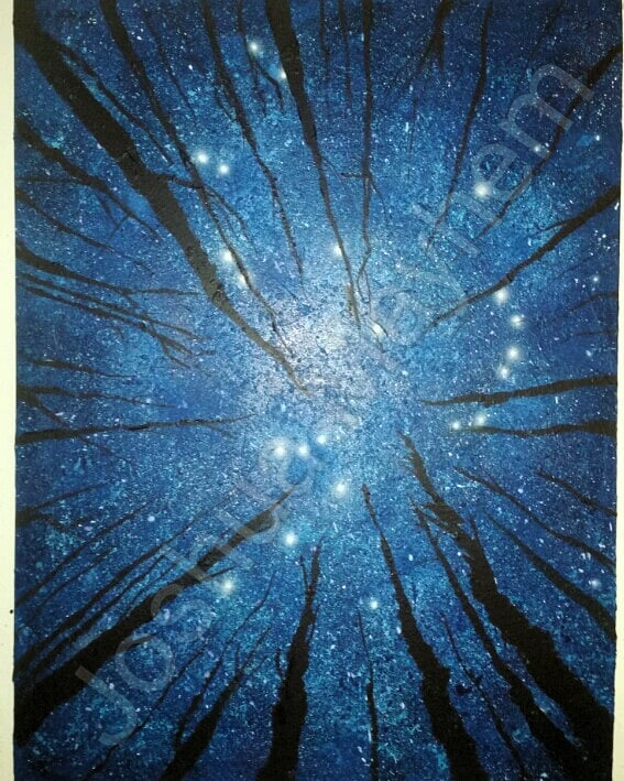 Orion. Acrylic on canvas. 30 x 40 inches. 1.5 inch profile. 2018 . From the Space & Time series. . . . . Constellation Orion The Hunter. Approx 9000 years ago. Sinai Peninsula. . . CAD$1200.00 This painting is for licencing, rent or purchase the original. E-transfer, PayPal or Bitcoin.